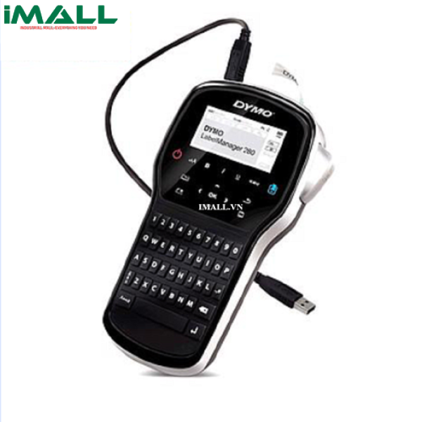 May In Quan Ly Nhan 280 Ban Phim Qwerty Dymo Lm 280 12mm