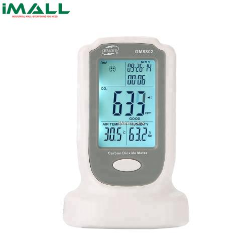 May Do Khi Co2 Total Meter Gm 8802